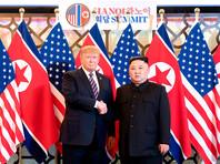 Во время февральского саммита в Ханое президент США Дональд Трамп передал лидеру КНДР Ким Чен Ыну документ с прямым призывом передать Соединенным Штатам все северокорейское ядерное оружие и топливо