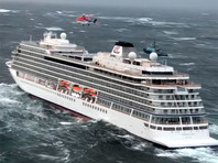 Почти 400 человек уже эвакуированы с норвежского парома Viking Sky, у которого отказал один из двигателей в море в районе губернии Мёре-ог-Ромсдал