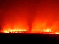 Стена огня из Приморья угрожала китайскому городу (ВИДЕО)