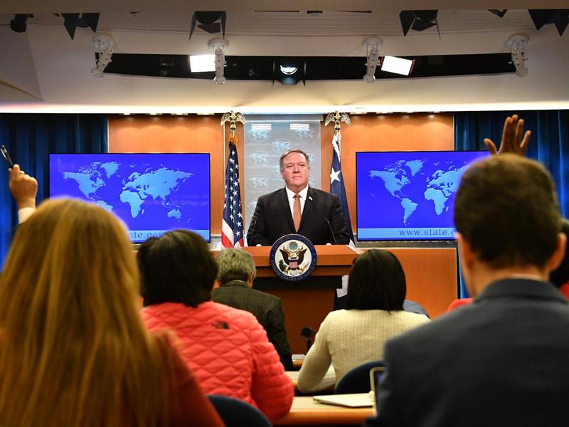 Госсекретарь США Майкл Помпео не согласен с выводами руководства КНДР о создании атмосферы враждебности на переговорах о денуклеаризации Корейского полуострова