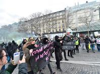 """Власти Франции будут запрещать акции """"желтых жилетов"""" в случае участия ультрарадикалов"""