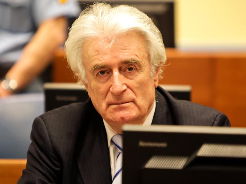 """Международный остаточный механизм для уголовных трибуналов ужесточил приговор бывшему """"лидеру сербского народа в Боснии"""" Радовану Караджичу с 40 лет тюрьмы до пожизненного заключения"""