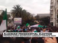"""Более 1 млн человек  вышли на антиправительственную  манифестацию в Алжире: """"Республика - не королевство!"""""""