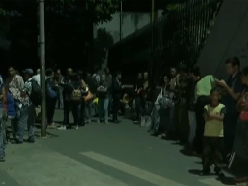 В Венесуэле из-за блэкаута второй рабочий день за неделю сделан выходным