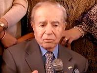 Экс-президента Аргентины Менема приговорили к 45 месяцам тюрьмы