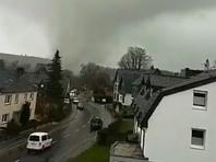 Торнадо на западе Германии повредил десятки домов (ВИДЕО)