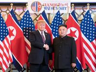 Дональд Трамп и Ким Чен Ын, 27 февраля 2019 года