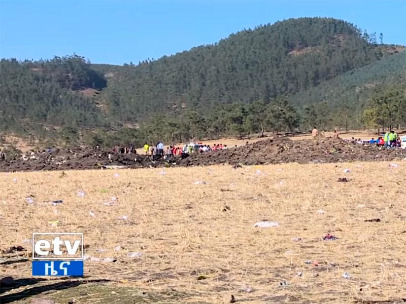Черные ящики разбившегося эфиопского самолета доставлены следователям во Францию