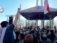 """Белорусская оппозиция завершила двухдневное празднование """"Дня Воли"""" большим концертом в Минске"""