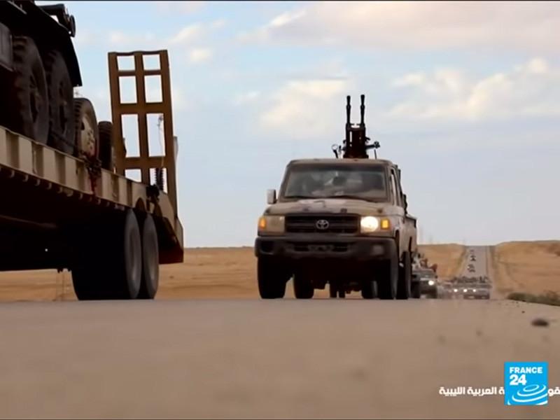 """Фельдмаршал Хафтар, получив поддержку от ЧВК Вагнера, начал наступление на Триполи"""" />"""