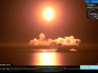 """""""Берешит"""" был запущен 22 февраля 2019 г. (04:45 мск) американской ракетой-носителем Falcon 9, стартовавшей с базы ВВС США на мысе Канаверал (штат Флорида)"""