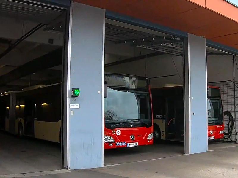 Автобусы в австрийском городе Клагенфурт (федеральная земля Каринтия), где проживает свыше 100 тысяч человек, не вышли в среду на линии после того, как один из их водителей заразился корью