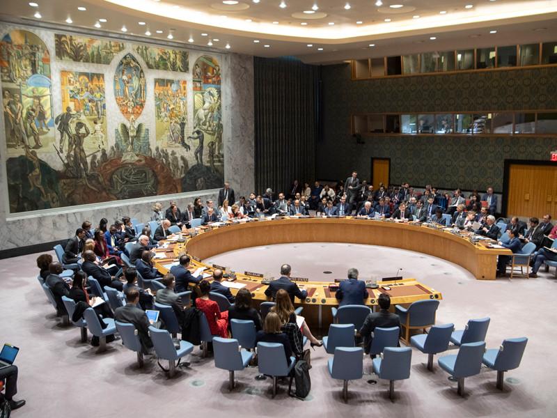 Совет безопасности ООН, 1 апреля 2019 года