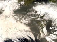 Пыль из Сахары испортила воздух во Франции (ФОТО)