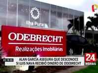 Правоохранительные органы Перу подозревают Гарсию в получении взяток от бразильской строительной компании Odebrecht. В тот момент она участвовала в производстве электропоездов для метрополитена Лимы