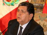 Экс-президент Перу Алан Гарсия застрелился при задержании