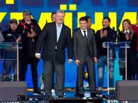 """На """"Олимпийском"""" в Киеве прошли дебаты Зеленского и Порошенко"""