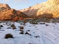 В Саудовскую Аравию вернулась зима: на северо-западе страны выпал снег (ФОТО, ВИДЕО)