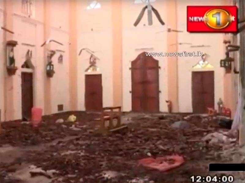 Число погибших в результате терактов на Шри-Ланке снизилось более чем на 100 человек