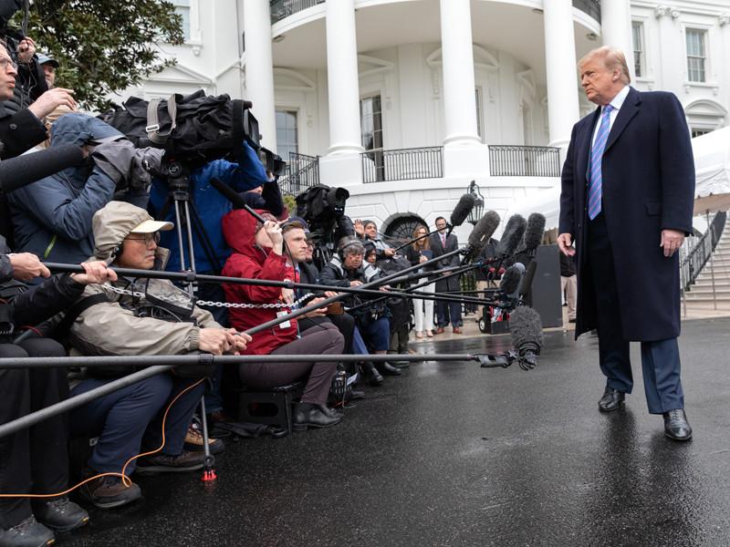 Дональд Трамп, 5 апреля 2019 года