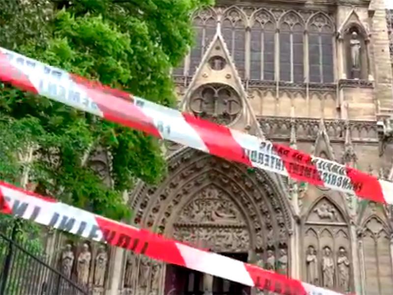 "Власти Парижа запретили 20 апреля акции протеста ""желтых жилетов"" в районе собора Нотр-Дам"" />"