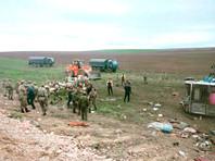 В Казахстане на трассе Алма-Ата - Ташкент перевернулся пассажирский автобус, погибли 11 человек, 29 пострадали, сообщается на сайте МВД республики