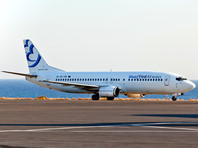 Boeing 737-400 греческой авиакомпании Bluebird Airway
