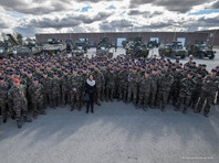 """Франция отправила в Эстонию сотни солдат, танки и БМП для """"Весеннего шторма"""" НАТО у границ РФ по противодействию российской угрозе"""