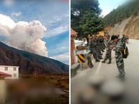 При тушении лесного пожара в китайской провинции Сычуань погибли 30 пожарных (ВИДЕО)
