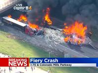 В штате Колорадо произошло массовое ДТП