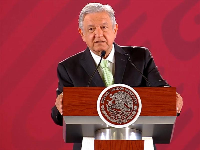 """Недавно вступивший в должность президент Мексики не верит, что в стране с его приходом стало больше насилия"""" />"""