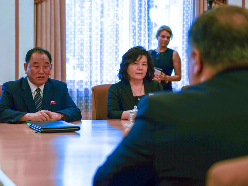 """США в ответ на требования КНДР отстранить Помпео заявили о готовности к конструктивному диалогу"""" />"""