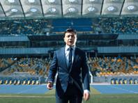 """3 апреля Зеленский в видеообращении к Порошенко предложил провести дебаты на """"Олимпийском"""" - крупнейшем стадионе Киева и одном из крупнейших в Европе. Он вмешает более 70 тысяч человек"""