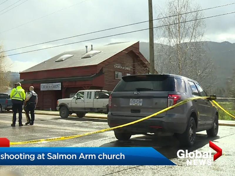 """Житель Канады с психическими проблемами устроил стрельбу в церкви и убил пожилого прихожанина (ВИДЕО)"""" />"""