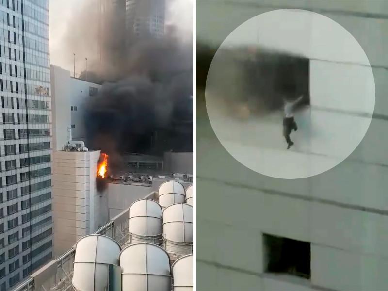 """Пожар в крупнейшем торговом центре Таиланда: люди выпрыгивали из окон (ФОТО, ВИДЕО)"""" />"""