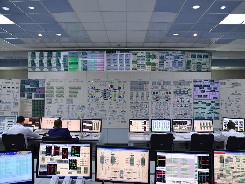 Блочный щит управления энергоблока № 3 Ростовской АЭС