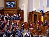 Зеленский вступил в должность президента Украины и распустил Верховную раду под бурные овации (ФОТО, ВИДЕО)