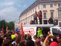В Вене несколько тысяч демонстрантов потребовали провести новые выборы после скандальной отставки вице-канцлера (ФОТО, ВИДЕО)