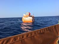 72-летний француз на бочке пересек Атлантический океан (ФОТО, ВИДЕО)