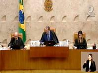 Председатель ФВС Жозе Антониу Диас Тоффоли объявил в четверг вечером перерыв в заседании по этому делу до 5 июня