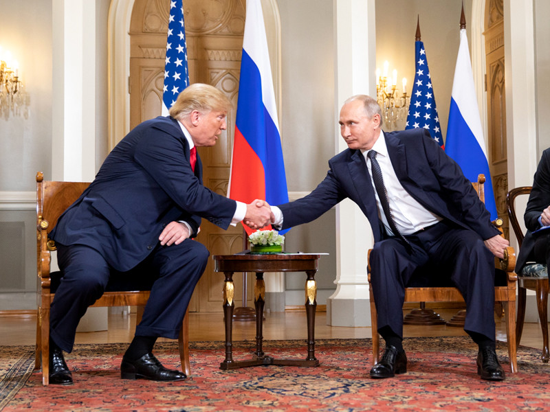 """Белый дом выступил с инициативой провести переговоры с Путиным на высшем уровне"""" />"""