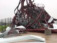 11 человек получили ранения во время шторма на автодроме в городе Уитленд штата Миссури