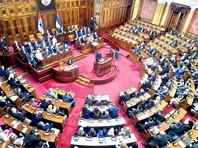 Нападение албанцев на сербов, живущих в Косово и Метохии, является вопросом нескольких дней или месяцев. Об этом заявил в понедельник президент Сербии Александар Вучич, обращаясь к Народной скупщине (парламенту) страны