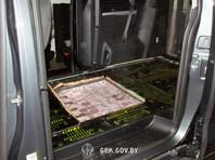 В Белоруссии у автомобилиста из РФ изъяли 311 кг гашиша