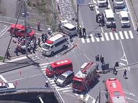 Автомобиль врезался в группу детсадовцев в Японии, двое детей погибли (ФОТО, ВИДЕО)