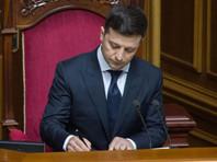 Зеленский подписал свой первый президентский указ и призвал США и ЕС ужесточить санкции против России