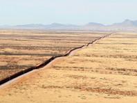 Граница с Мексикой в штате Аризона