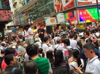 В Гонконге сотни тысяч протестующих вышли на акцию против готовящегося соглашения об экстрадиции в КНР