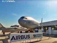 Европейский концерн Airbus лишь за первые сутки Ле-Бурже подписал 123 контракта на поставку новых и переоснащение уже находящихся в эксплуатации самолетов