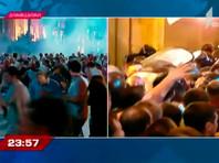 Более 300 человек пострадали во время конфликта в Тбилиси